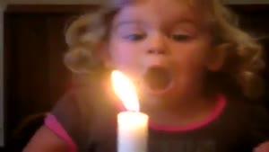 فوت کردن شمع
