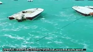 اسکله ماهیگیران شهرستان هندیجان