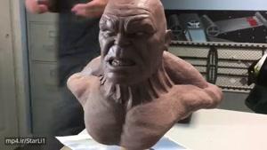 ساخت مجسمه HULK
