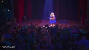 سکانس اجرای کنسرت مینا در انیمیشن sign