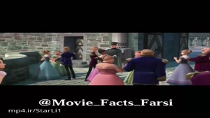 سکانس حضور راپونزل و فلین شخصیت های انیمیشن Tangled در انیمیشن منجمد (Frozen)