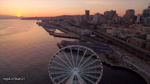 فیلم برداری هوایی فوق العاده زیبا از سیاتل