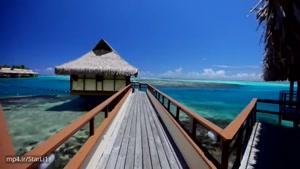 دانلود ویدیو دیدنی وبسیار زیبا از طبیعت شگرف فرانسه - تاهیتی