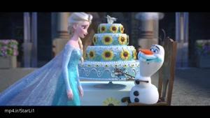 تولد آنا-انیمیشن زیبای فروزن