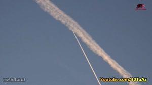 دلیل دنباله سفید ابری پشت هواپیما در چیست