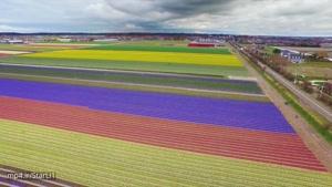 فیلم برداری هوایی از کشور زیبای هلند