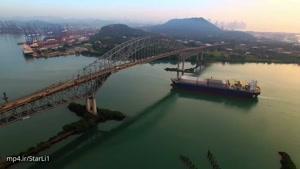 فیلم برداری هوایی از طبیعت فوق العاده ی پاناما