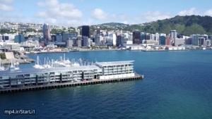 فیلم برداری هوایی شگفت آور از نیوزلند