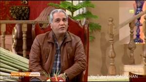 شوخی کردن مهران مدیری با سوتی های جواد خیابانی