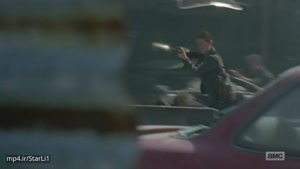 سکانس جنگ بین گروه ریک و نیگان The Walking Dead ۸x۰۲