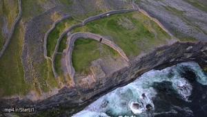 فیلم برداری هوایی شگفت آور از ایرلند