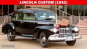 ماشین رییس جمهور آمریکا از سال (1939-2017)