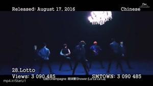 ۳۱ موزیک ویدیوی پرطرفدار اکسو در یوتیوب