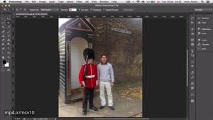 ۱۴- جدا کردن دقیق عکس با ماسک در فتوشاپ