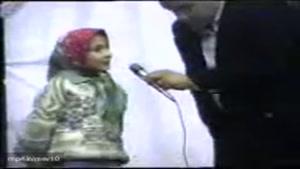 دختر خوش صدای ایرانی
