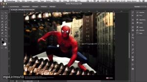 ۸- راه حل برای حرکت دادن عکس در فتوشاپ