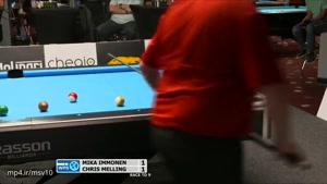 بازی بیلیارد توسط کریس ملینگ