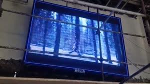 تلویزیون شهری داخل سالن شركت ایلیا SMD(اسکوربرد)