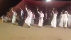 رقص دسته جمعی عربی