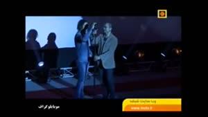 رضا یزدانی و رامبد جوان در افتتاحیه جشنواره فیلم ه
