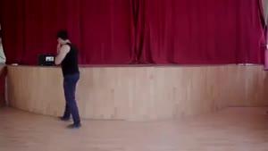 آموزش رقص آذری لزگی بخش ۳