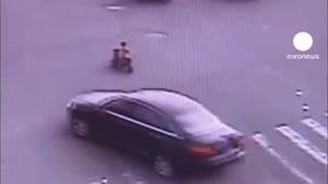 بازی با مرگ کودک سه ساله چینی