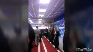 استقبال رویایی خدام امام رضا در فرودگاه از زوار