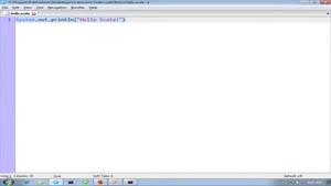اموزش زبان برنامه نویسی اسکالا-بخش ۱