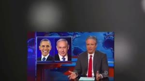 جان استوارت و تمسخر نتانیاهو و اسرائیل