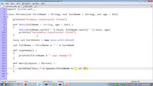 اموزش زبان برنامه نویسی اسکالا -بخش ۳