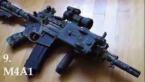 ۱۰ اسلحه برتردنیا