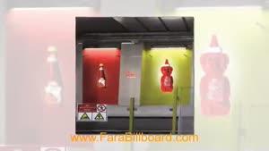 تبلیغات در مترو تهران - فرابیلبورد