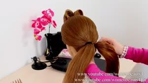 مدل موی حلقه ای