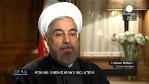 مصاحبه شبكه EuroNews با روحانی – ۱۳۹۲/۱۱/۴