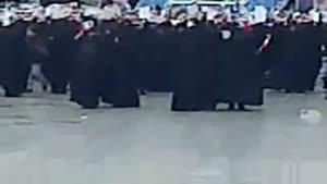سخنرانی دکتر روحانی در حرم حضرت معصومه