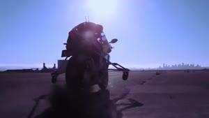 روبات موتورسوار یاماها