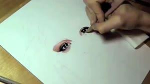 نقاشی فوق العاده ازچهره ی سلنا گومز
