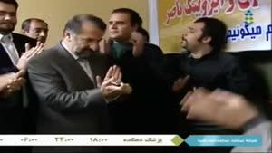 رقصیدن تو برنامه افتتاح خانم شیرزاد