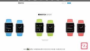 ویژگی های ساعت اپل