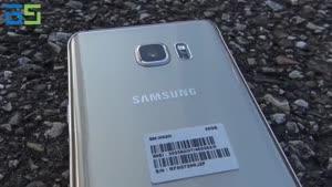 Galaxy Note۵ درارتفاع ۲۵۰ متری!!!