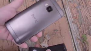 تست ضربه و خراشیدگی HTC One M۹