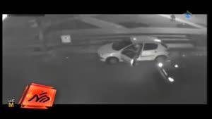 دستگیری سارقان در خودروی سرقتی