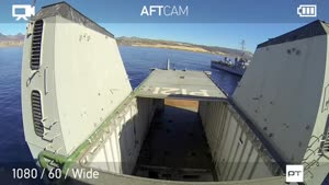 غرق شدن یک کشتی جنگی نیروی دریایی مکزیک