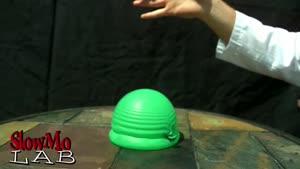 آزمایشاتی با بادکنک در حرکات آهسته