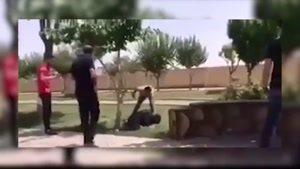 فیلم لحظه قتل یک زن توسط شوهر پنجمش در خیابانی در تهران