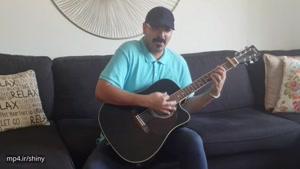 اجرای ترانه کویر باور از حبیب با گیتار...