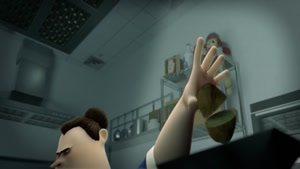 انیمیشن کوتاه حمله ساعتهای سیب زمینی