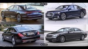 مقایسه ی دو ماشین زیبا و پرقدرت Audi ۲۰۱۸ و Mercedes S-Class