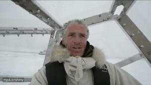 وقتی خرس قطبی دوربین تصویربردار بدشانس بی بی سی رو میبینه