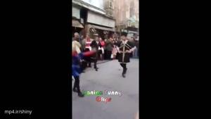 رقص آذری در خیابان لاله زار